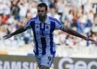 Agirretxe, con 11 goles, llama a las puertas de la Selección