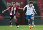 El tempranero gol de Ángel le vale al Zaragoza para ganar