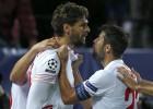 Sevilla-Juventus en imágenes
