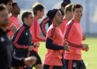 Thiago vuelve a entrenarse tras la lesión de rodilla