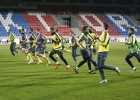 Así preparó el Villarreal el partido en Pilsen