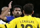 Casillas y Diego Costa se enzarzaron por una zancadilla