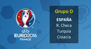 Grupo de España en la Eurocopa 2016 de Francia