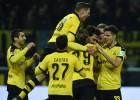 El Dortmund golea al Eintracht y sigue la estela del Bayern