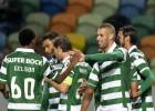 El líder Sporting no pierde fuelle y gana al Moreirense