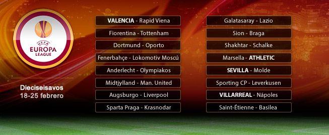 Duro para Villarreal y Athletic; cómodo para Sevilla y Valencia