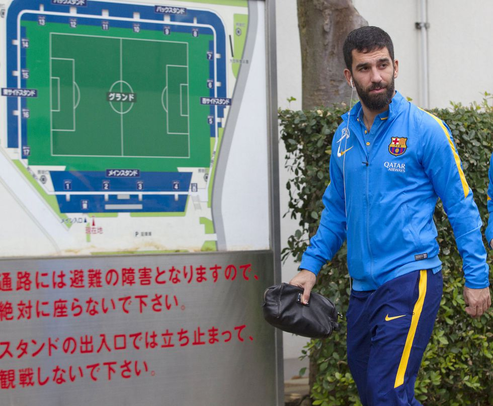 Mundial de Clubes | Barcelona: Aleix Vidal y Arda no pudieron trabajar en el estadio de la final - AS.com