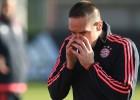 La lesión de Ribéry, más grave de lo que parecía: 2 meses