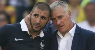 Benzema y Deschamps