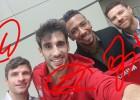 El Bayern renueva a Xabi, Javi Martínez, Boateng y Müller