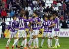 El Valladolid se desmelena ante el Tenerife antes del parón