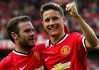 Mata y Herrera pedirían salir del United si sigue Van Gaal