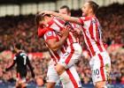El Stoke hunde al United con goles de Bojan y Arnautovic