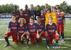 El Barça negó a su infantil una foto con Raúl y luego rectificó