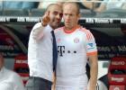 Robben lamenta la marcha de Guardiola: