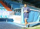 Julio Baptista se entrena en las instalaciones de la Ponfe