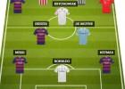 Cristiano y cuatro del Barça, en el 11 ideal de France Football