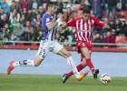 Un gol de Morillas permite al Girona salir del descenso