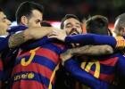 El uno por uno del Barça: Messi demoledor e Iniesta, mágico