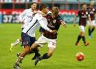 El Milán ve alejarse los puestos europeos al caer con el Bolonia
