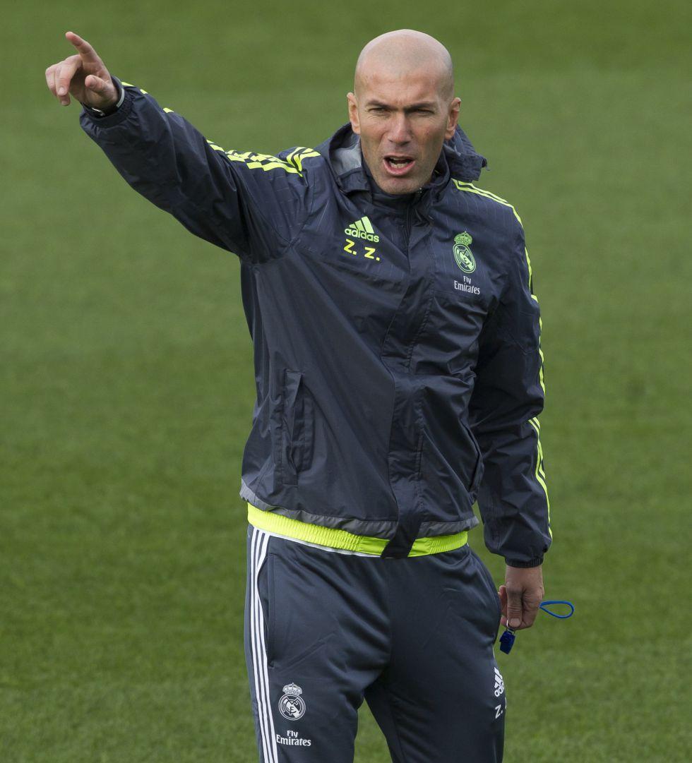 Zidane tendrá un calendario amable hasta el viaje a Roma
