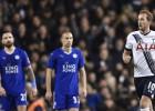 Kane firma de penalti el replay entre Leicester y Tottenham