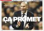 """Elogios: """"La esperanza tiene un nuevo nombre: Zidane"""""""