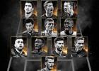 De Gea, Piqué y Alba, en el segundo mejor XI de la FIFA