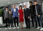 Dos de los hijos de Zidane, en la lista de los niños irregulares