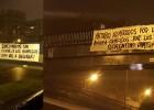 Aparecen pancartas en contra de Florentino tras la sanción