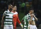 Un Sporting con 10 no pasa del empate ante el colista Tondela
