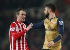 El Arsenal pincha ante el Stoke