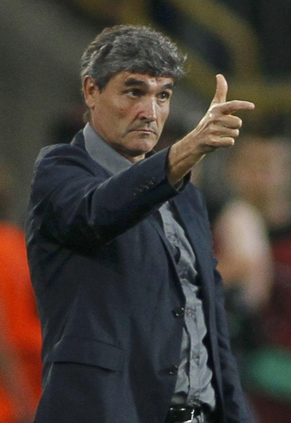 El técnico Juande Ramos, objetivo del Betis