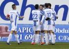 El Leganés golea a un Mirandés distraído pensando en la Copa
