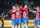 El Girona se aleja del descenso con una contundente goleada