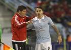 Hugo Mallo es duda para el partido contra el Atlético