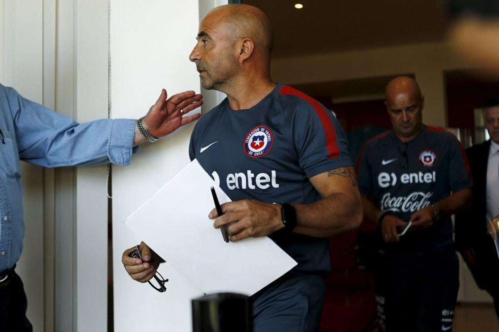 Ya es oficial: Sampaoli deja de ser seleccionador de Chile