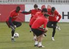 Simeone prepara rotaciones para la ida en Balaídos