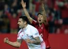 Vitolo le pone aroma de semifinales al Sevilla en el 93'