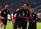 Doblete de Lewandowski en la victoria ante el Hamburgo