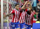 'Manita' del Sporting a la Real con un 'hat-trick' de Sanabria
