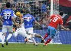 El Nápoles se impone a la Sampdoria y sigue líder