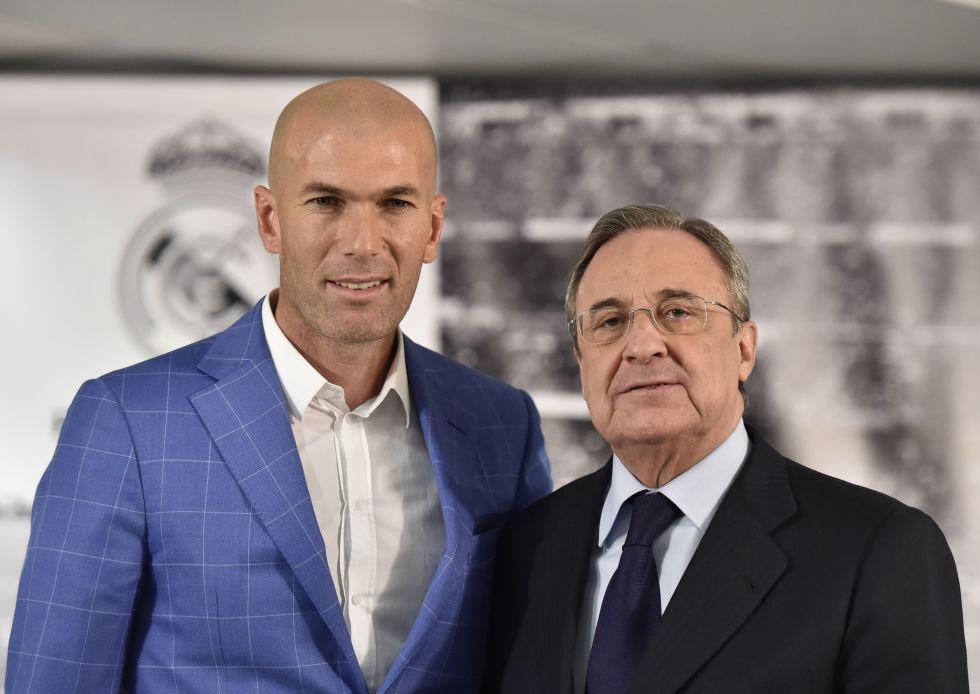"""Florentino: """"No vamos a fichar ahora, tenemos el mejor equipo"""""""