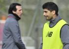 El Sevilla viajará sin Banega y con 19 futbolistas a Miranda