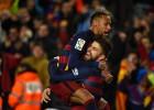 Uno por uno del Barça: un gran Neymar y el corazón de Piqué