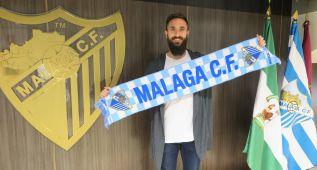 """El Málaga presenta a Cifu: """"Es un sueño esta aquí"""""""