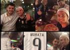 Morata realiza el sueño de un tifoso: