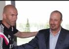 Zidane iguala los cuatro primeros partidos de Benítez