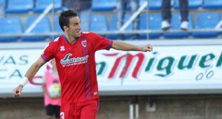 Un gol de Lekic le da el empate al Girona ante el Numancia