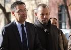 Bartomeu y Rosell en los juzgados de la Audiencia Nacional